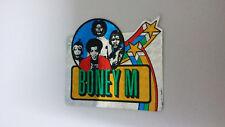 Boney M disco group SMALL STICKER Vintage logo music