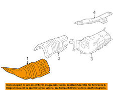 MAZDA OEM 04-09 3 2.3L-L4 Heat Shields-Exhaust-Front Shield BP4K56442F