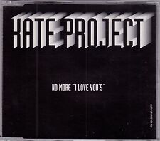 Kate Project - No More I Love You's - CD (MP 87 CD 4 x Track Italy)