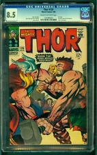 Thor #126 CGC 8.5 1966 1st Issue! Avengers! Key Silver! White Pages! C12 125 cm