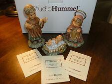Studio Hummel - Berta - Joseph/Baby Jesus/Mary - Goebel - Nativity - cert/box