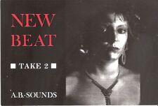 Carte Postale Postcard - New Beat Take 2 - A.B Sounds -