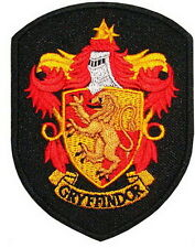 Harry Potter Gryffindor Crest Embroidered Iron Patches
