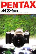 Pentax MZ-5N Prospekt brochure - (0349)