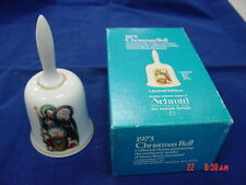 Vintage 1973 Nativity Christmas Bell Berta Hummel Schmid Brothers Baby Jesus