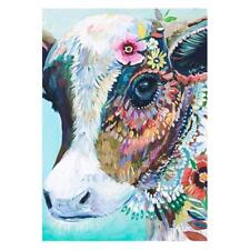 UK Full Drill Cow 5D DIY Diamond Painting Embroidery Cross Crafts Stitch Decor