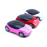2.4GHz 1600DPI Car Shape Wireless Optical Mouse USB Scroll Mice Comput TDss w/