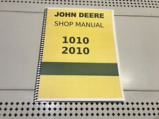 2010 John Deere Technical Service Shop Repair Manual