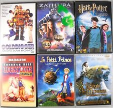 6 x DVD Paket = französische Kinderfilme Sammlung - Petit Prince - Harry Potter