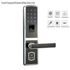 Digital Door Lock Electronic Touch Screen Fingerprint Password Keyless G-Type