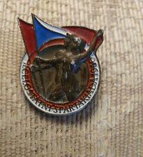 Rare 1960 Rome Olympics Czechoslovakia Participation Pin
