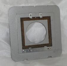 Plaubel Peco front Lensboard Model SG 6/350 allows mounting of Peco Junior Board