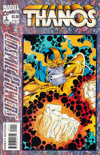 COSMIC POWERS 1994 #1-6 COMPLETE SET LOT FULL RUN THANOS SILVER SURFER RON MARZ