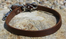 Quality Amish Made Oiled Leather Breast Collar Wither / Neck Strap. Horse Tack