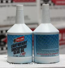 Redline Lightweight Shockproof Gear Oil 1-Quart