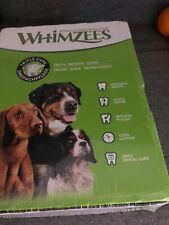 Whimzees Toothbrush Large Box 30 Trepats - Vegetable Chew Treat Gluten Free