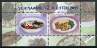 Suriname 2019 MNH Traditional Foods UPAEP 2v M/S Gastronomy Cultures Stamps