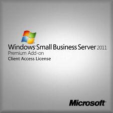 Microsoft Windows Small Business Server 2011 Premium Add-on 5 Client Access