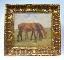 Gemälde Bild Pferde  sign. Lanthin