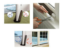 Home Insulation Twin Draught Guard for Doors/Window Keeps Heat In and Cold Air