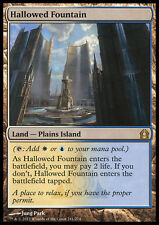 MTG HALLOWED FOUNTAIN EXC - FONTANA SANTIFICATA - RTR - MAGIC