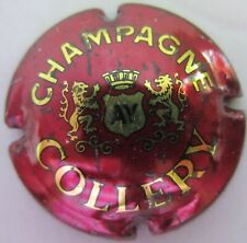 capsule champagne  COLLERY bordeaux no 1