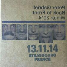 Peter Gabriel - Encore Series LIVE 2CD - Strasbourg, France 13/11/2014