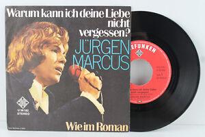 """7"""" Single - JÜRGEN MARCUS - Warum kann ich deine Liebe... (CV: Massachusetts)"""