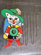 Vintage German Character Clock Dick Whittington Automaton Moving Eyes To Restore