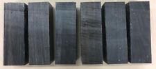 Schwarzes Ebenholz | Ebony | Drechselholz | Tonholz | Tonewood | 155 x 51 x 51mm