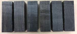 Schwarzes Ebenholz   Ebony   Drechselholz   Tonholz   Tonewood   155 x 51 x 51mm