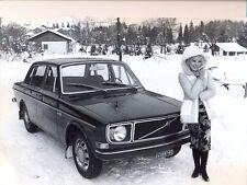 Volvo 144 original official press photograph 1