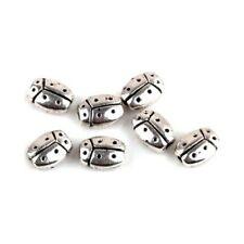 20 Perles intercalaire spacer _ COCCINELLE 7,5mm_  Apprêts créat. bijoux _ A048