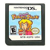 DS Cartridge Game Super Princes Peach US Version English NIntendo DS 3DS 2DS