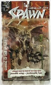 1999 McFarlane Curse of the Spawn 2 Action Figure Poseable Wings Series 13