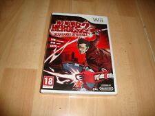 NO MORE HEROES 2 DESPERATE STRUGGLE DE RISING STAR NINTENDO Wii NUEVO PRECINTADO