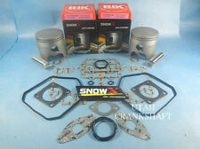 NEW SNOW X SKIDOO 800 2000-2007 DUAL RING PISTONS TOP END HO NON SUMMIT MXZ 82MM