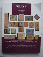 Spink - April 2019 Philatelic Collector's Series stamp auction catalogue