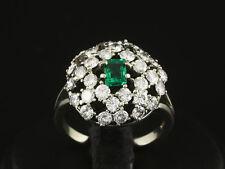 Wertvoller Smaragd Brillant Ring ca. 2,37ct Goldschmiedearbeit   585/- Weißgold