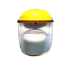Nuevo claro de seguridad Mascarilla Escudo Visera-Amarillo Claro De Seguridad Visor