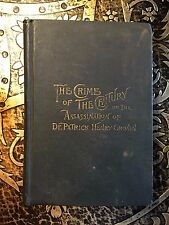 The Crime of the Century, Henry M. Hunt, 1st. Ed., 1889, Richly Illustrated