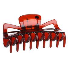 Donna Bagno fermacapelli capelli morsetto artiglio Barrette Plastica marron Y7A4