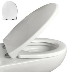 Deluxe WC Sitz Toiletten Deckel Klodeckel Klobrille Absenkautomatik Softclose