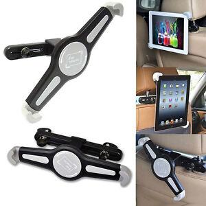 SUPPORTO AUTO UNIVERSALE POGGIATESTA PER TABLET 7 a 11 Pollici Apple IPAD AUTO