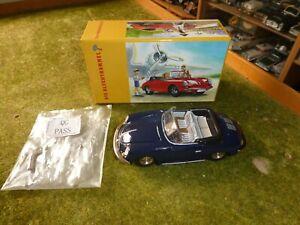 Porsche 356 Carrera - Die Blechtrommel - , neu , mit Uhrwerk ,Schlüssel und OVP