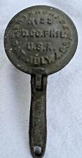Antique Cast Iron Ice Shaver: Enterprise No. 33; Phila, USA: Pat July 4, 1893