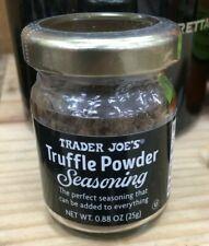 New Seasonal Item: Trader Joe's TRUFFLE POWDER SEASONING (0.88oz/25g)