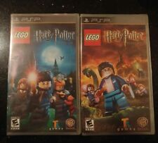 Lego Harry Potter Years 1-4 and 5-7 Games for PSP Black Label SEALED NEW Lot