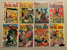 Bronze age Metal Men lot 12 different from #42-56 avg 5..0 VG FN (1973-78)