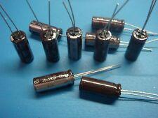 (10) ELNA CAPACITOR RSH25V331MA43 25V 330uF 105°C RADIAL ALUMINUM ELECTROLYTIC